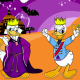 Funny Donald On Halloween Icon
