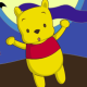 Piglet and Pooh on Halloween Icon